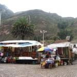 Outdoor Market Pisac Peru