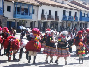 Celebration in Cusco Peru