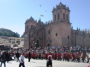 Festivities in Cusco Peru