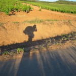 silhouette Miha backpacking el camino