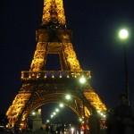 Paris- Turnul Eiffel-noaptea