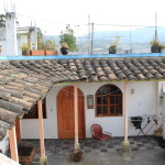 Hotel Chasqui patio and room