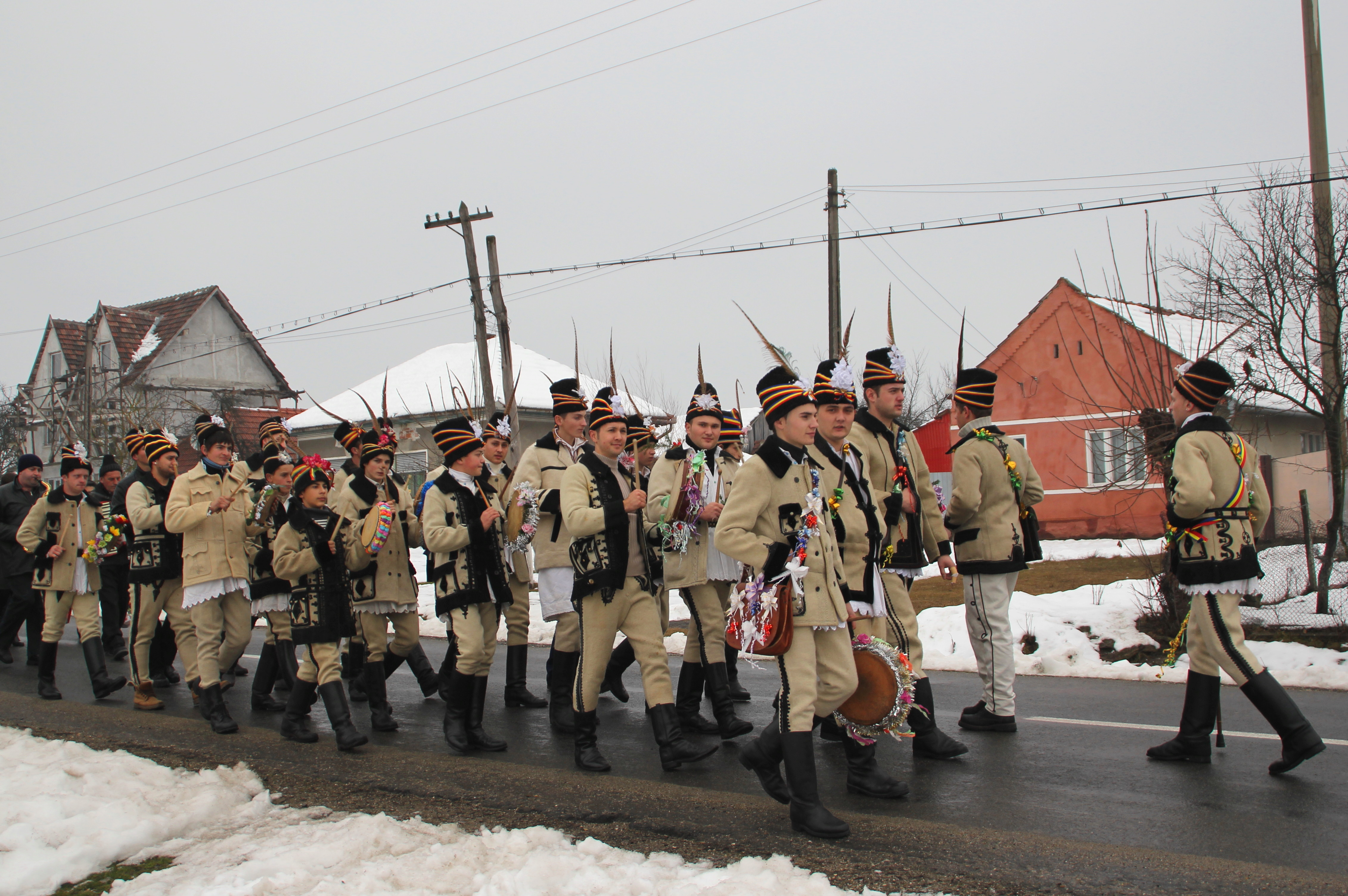 A Traditional Christmas in Birchiş, Romania - Travels With Miha