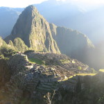 Machu Picchu Morning Peru