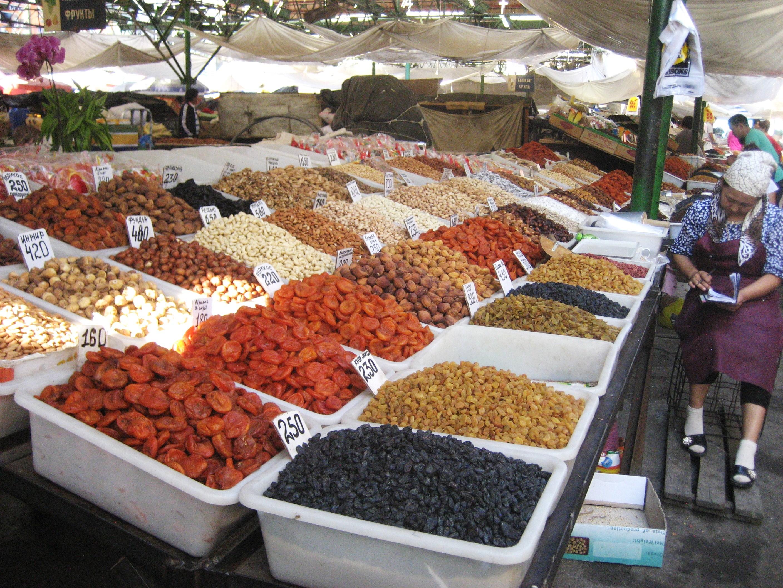 Osh Bazaar / Market in Bishkek - Travels With Miha