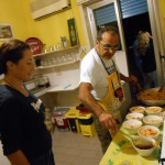Italian cooking class gianni house