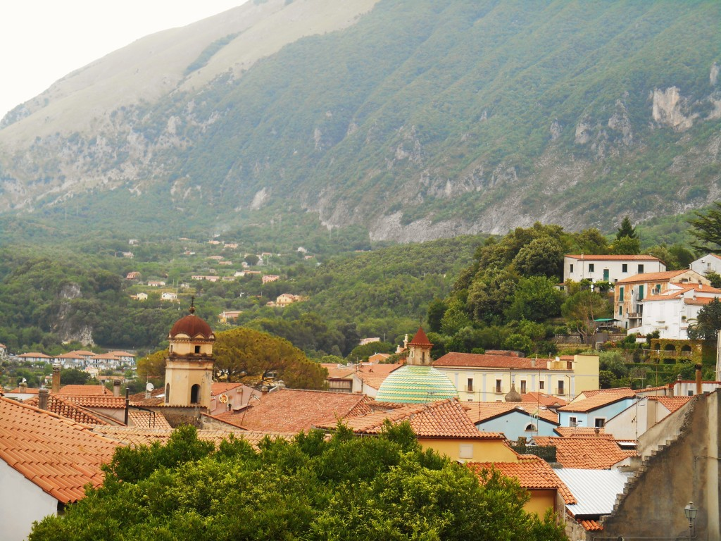 Rooftops of Maratea, Italy