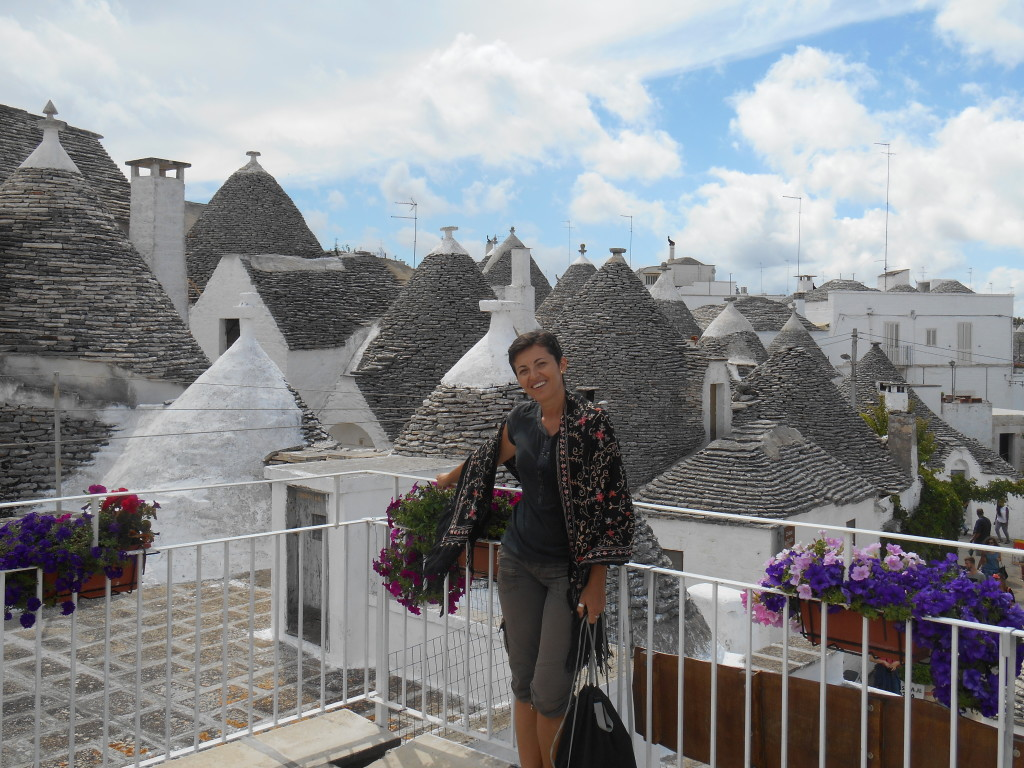 Miha from travelswithmiha in Alberobello, Puglia