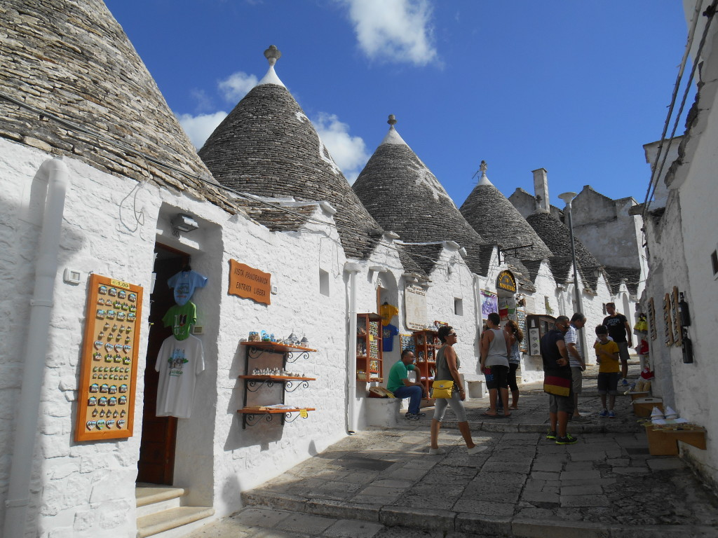 Alberobello, Puglia, Trulli homes