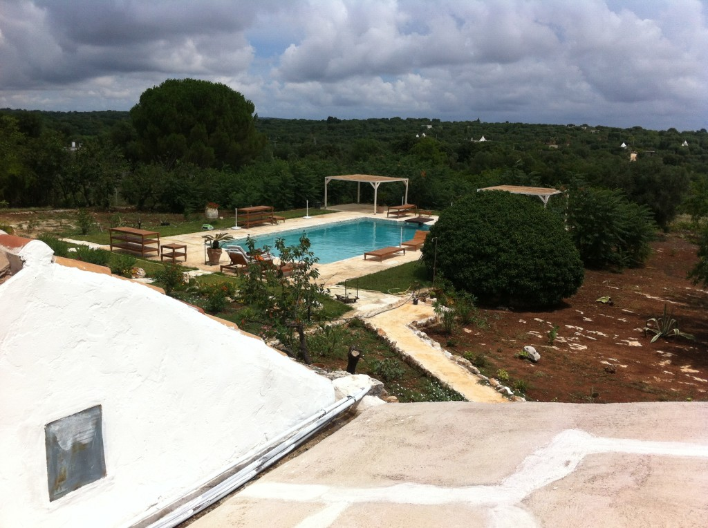 Masseria Genovese- the pool