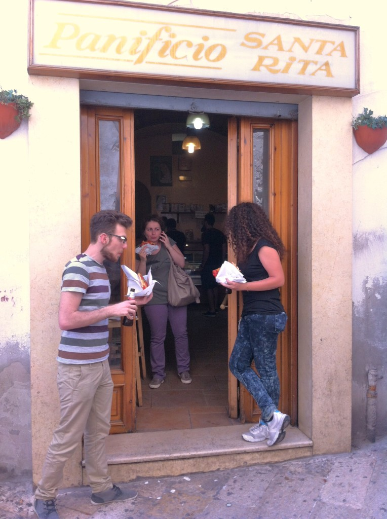 Fantastic Focaccia at Panificio, Puglia, Italy