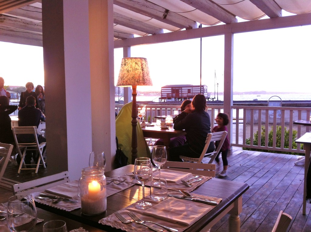 Sea Food Restaurants in Cesenatico, Italy