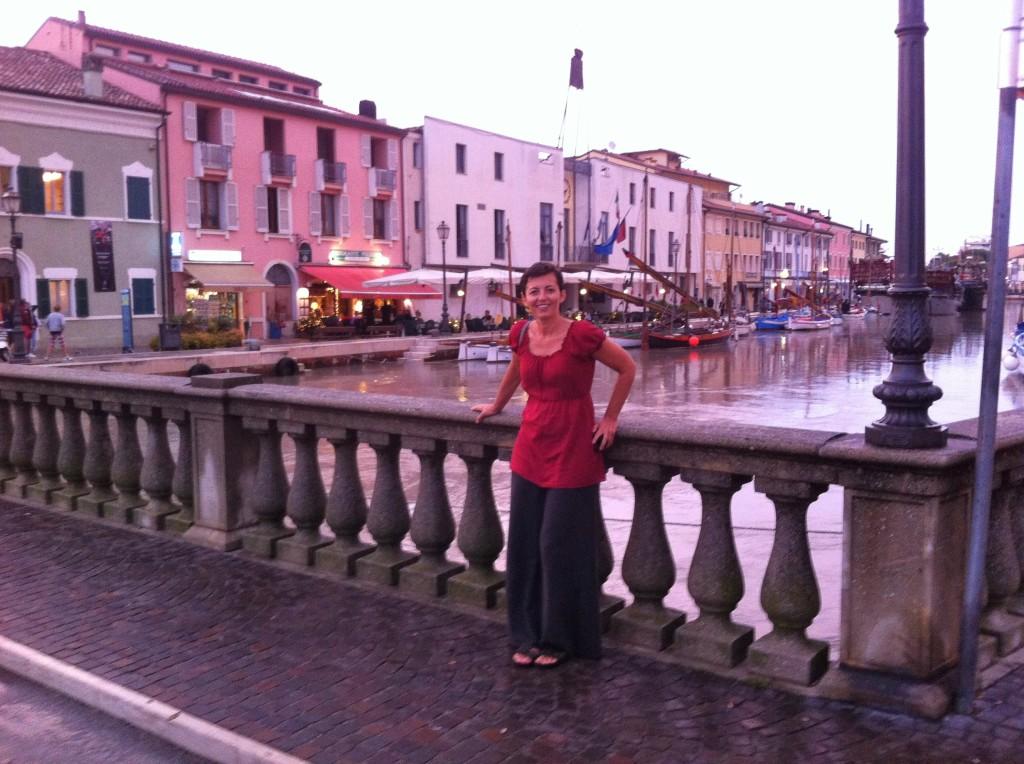Miha from travelswithmiha enjoying Cesenatico, Italy Couchsurfing Forli Emilia Romagna