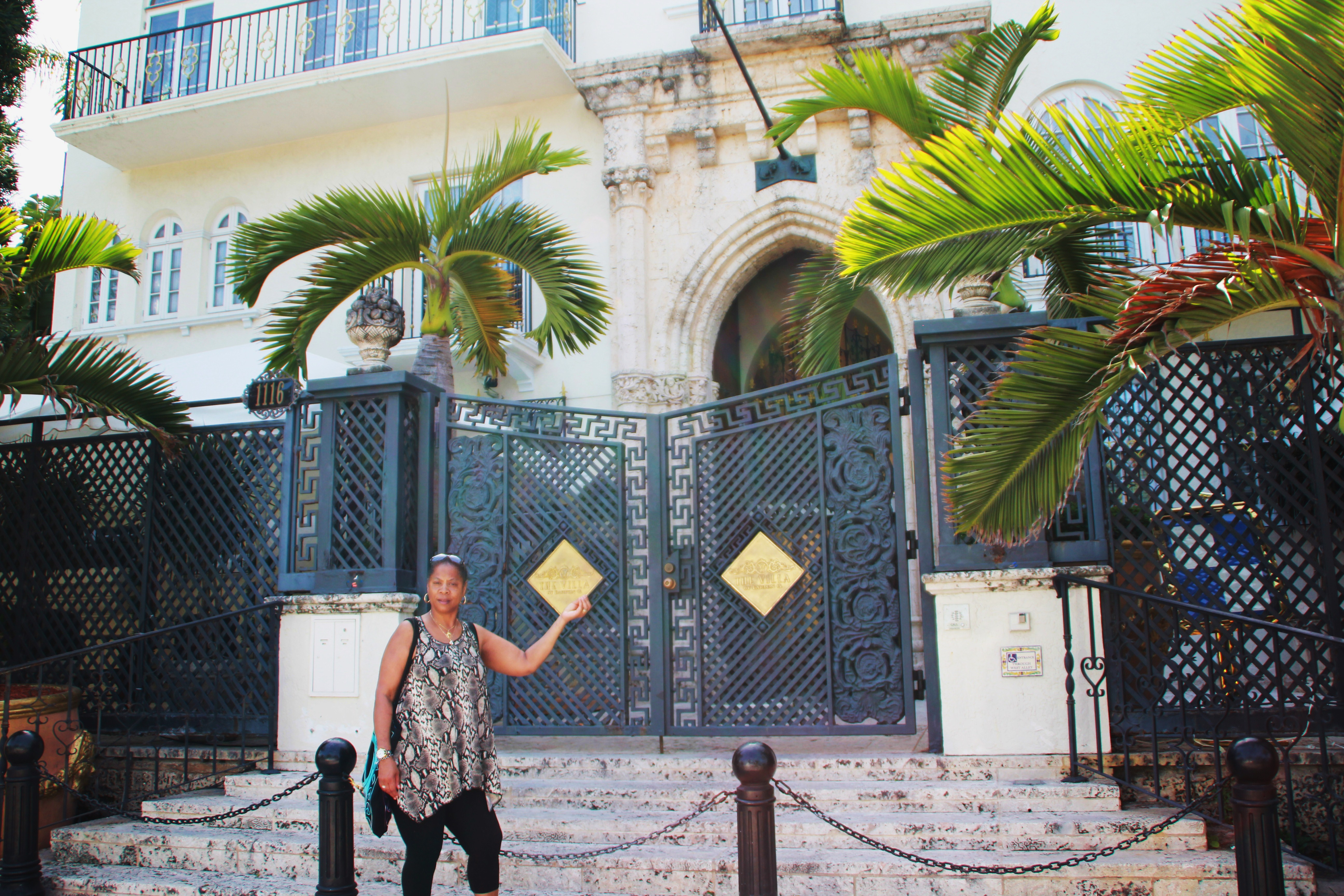 On Ocean Drive South Miami Beach Yvonne By Versace S House